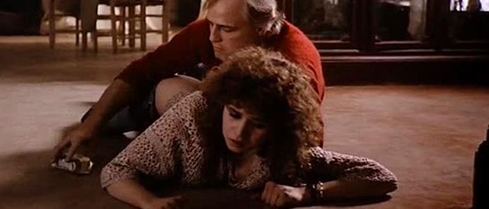 A cena de sexo anal de Último Tango em Paris